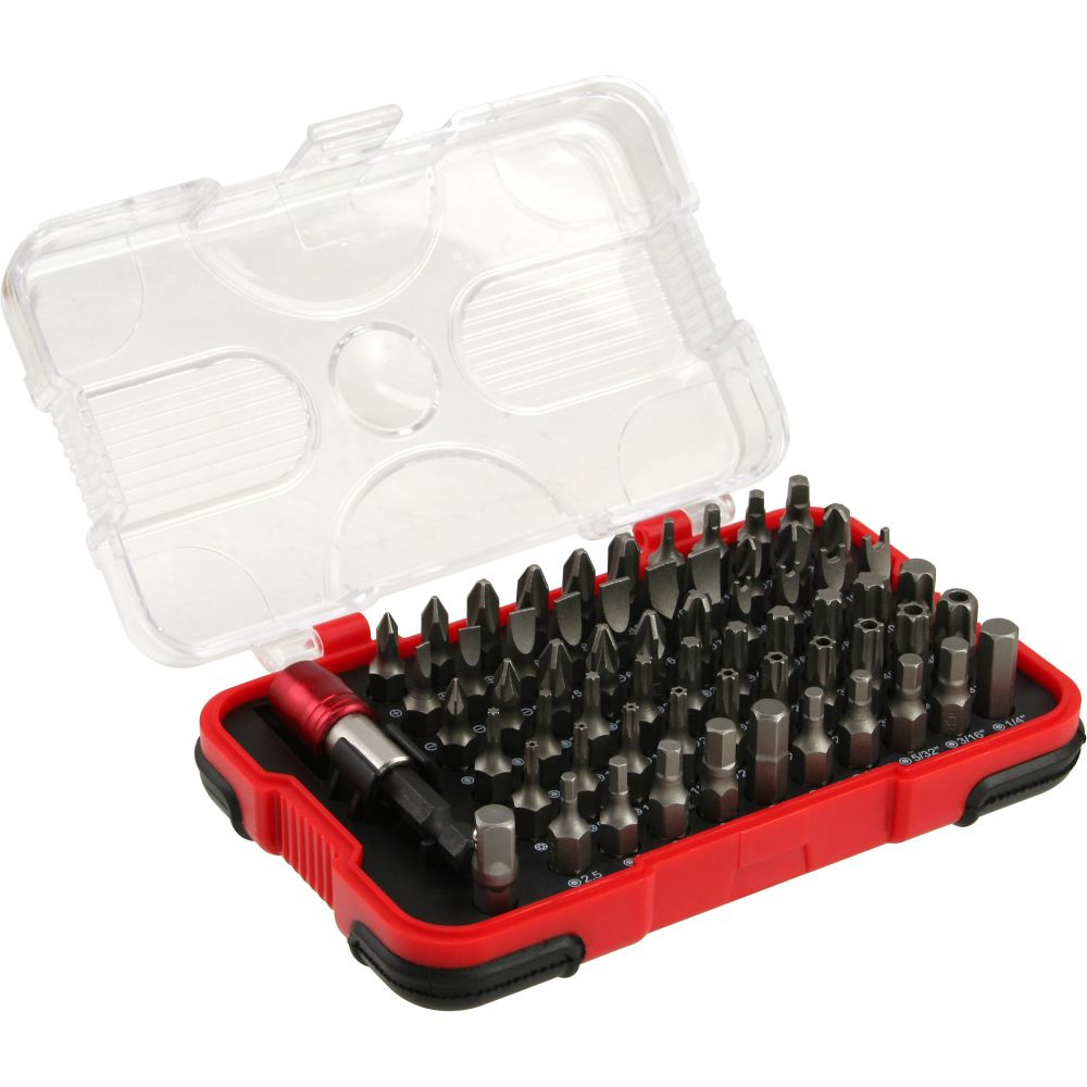 InLine® Multi Bitbox 62-teilig, mit Schnellverschluss Bithalter