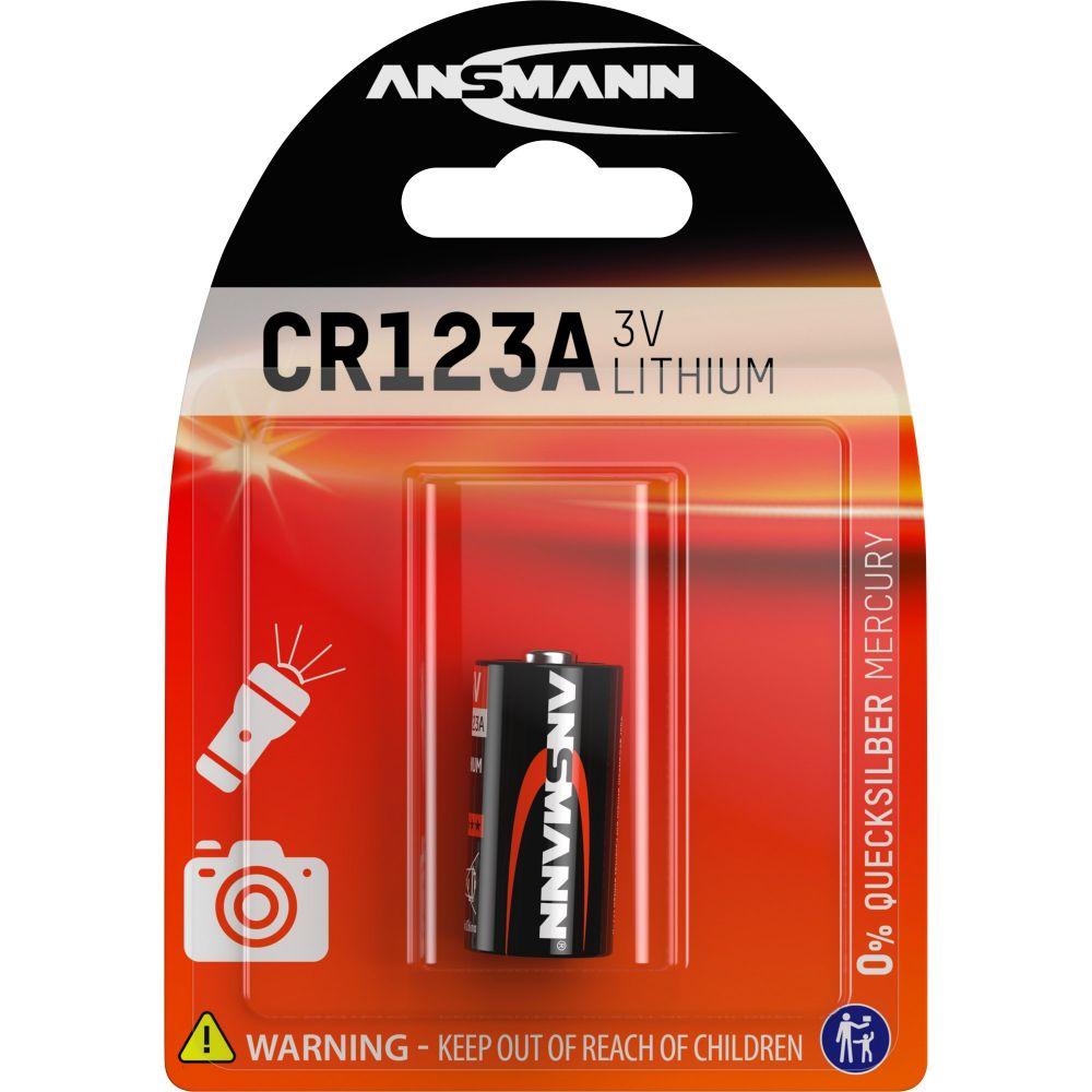 ANSMANN 5020012 Lithium Photobatterie 3V CR123A