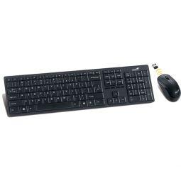 GENIUS Maus+Tastatur SlimStar 8000ME, USB, schwarz, Funk