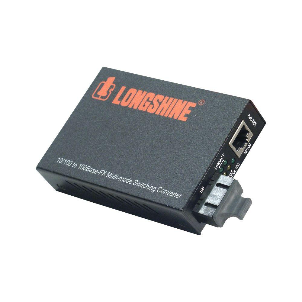 Longshine Ethernet Media Konverter 10/100 TP zu 100 LWL(SC) LCS-C842MC