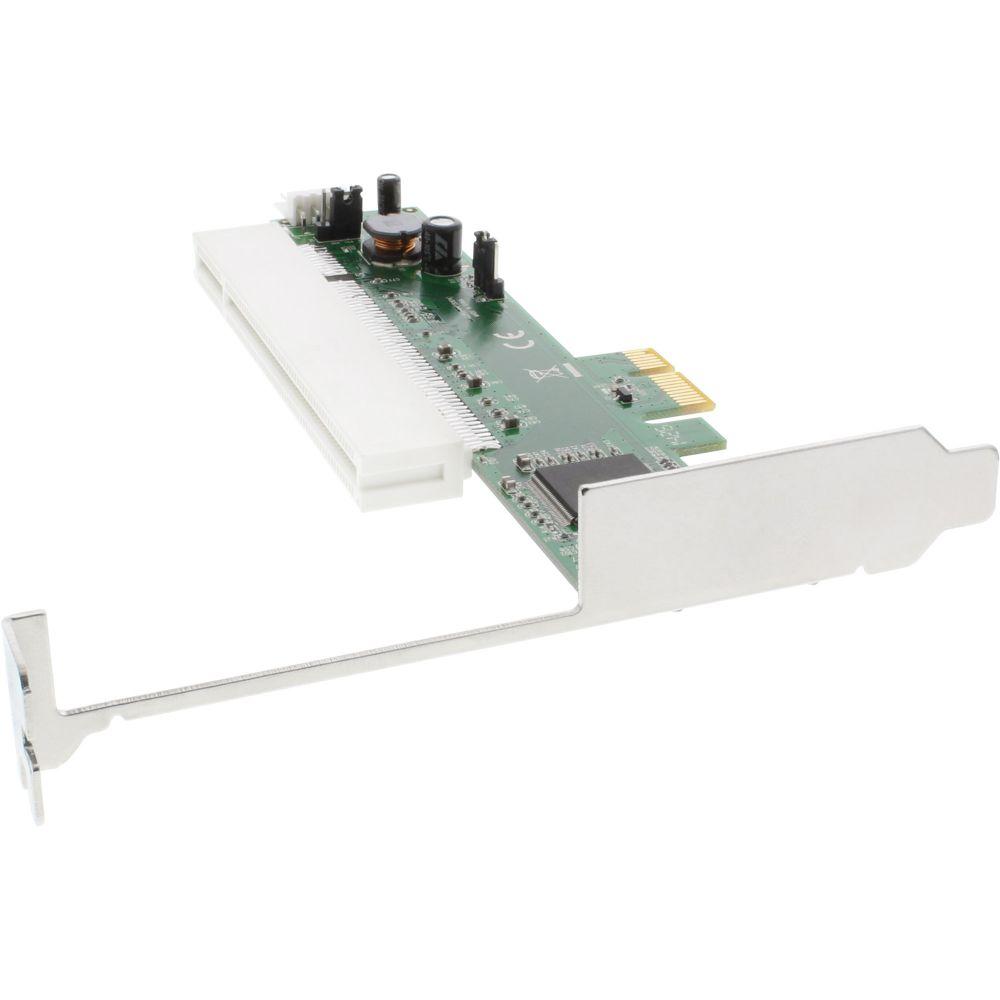 InLine® Schnittstellen-Adapterkarte, PCI auf PCIe (PCI-Express)