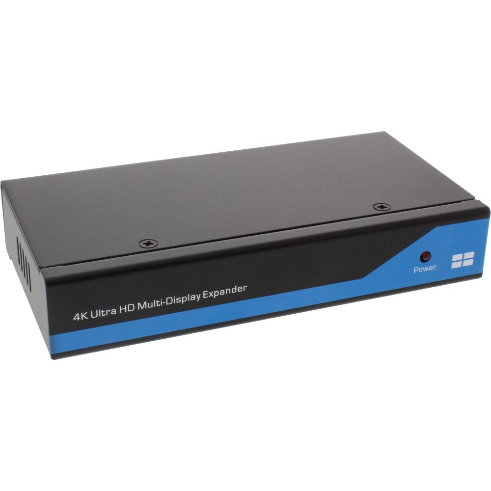 InLine® Displayport zu HDMI 2x2 Videowand Splitter, 1 Eingang auf 4 Ausgänge, 4K2K