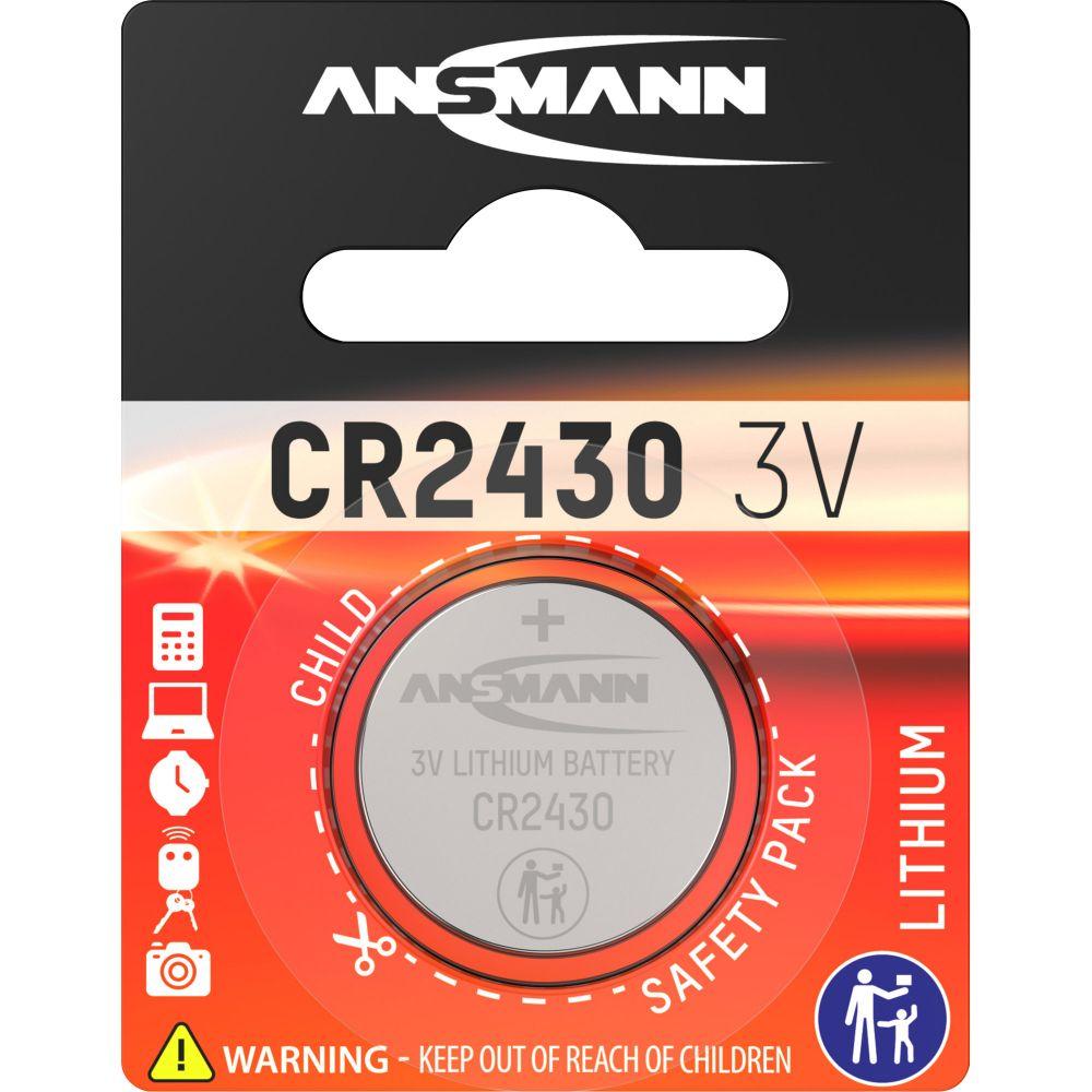 ANSMANN 5020092 Knopfzelle CR2430 3V Lithium