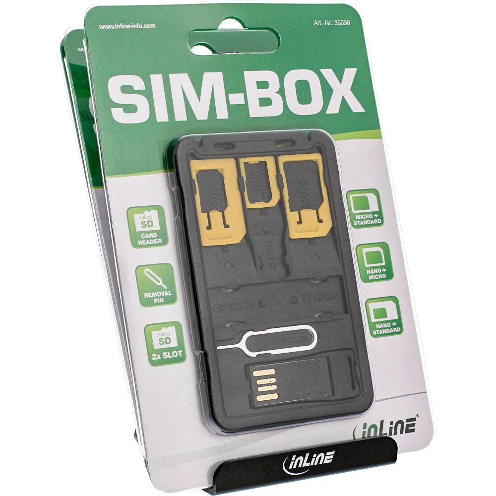 InLine® SIM-BOX POS-Set für die Ladentheke