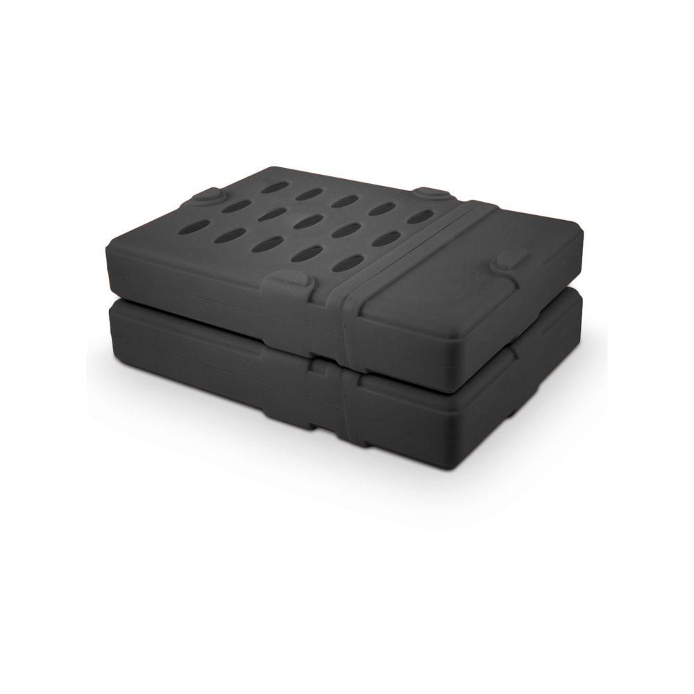 FANTEC Schutzhülle für 3,5'' Festplatten, schwarz