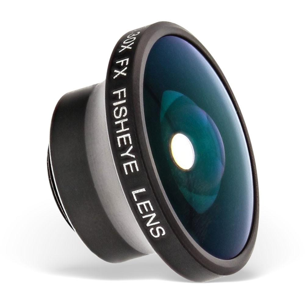 InLine® Smartphone Aufsteck-Objektiv Fisheye Weitwinkel 0.30x
