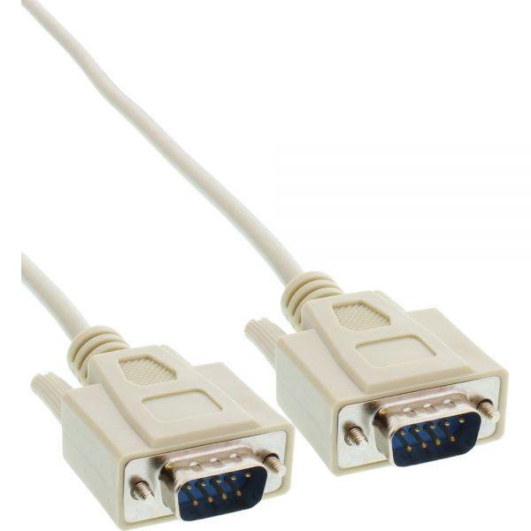 inline serielles kabel 9pol stecker stecker vergossen 1 1 belegt 2m 9 polig seriell. Black Bedroom Furniture Sets. Home Design Ideas