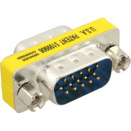 InLine® Mini-Gender-Changer, 15pol HD (VGA), Stecker / Stecker