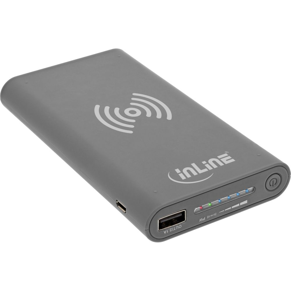 inline qi plate powerbank 8000mah wireless charging. Black Bedroom Furniture Sets. Home Design Ideas