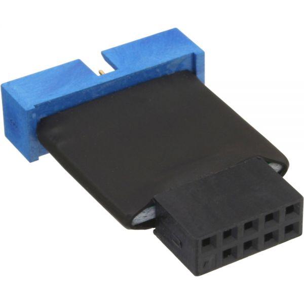 InLine® USB 2.0 zu 3.0 Adapter intern, USB 2.0 Mainboard auf USB 3.0 ...