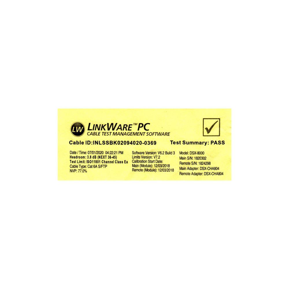 InLine® Patchkabel, S/FTP (PiMf), Cat.6A, 500MHz ...