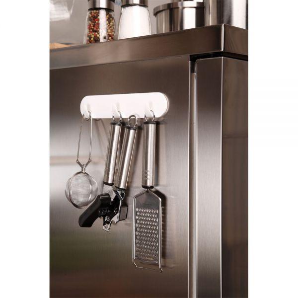 tesa powerstrips hakenleiste zur aufbewahrung von utensilien ohne bohren wei. Black Bedroom Furniture Sets. Home Design Ideas