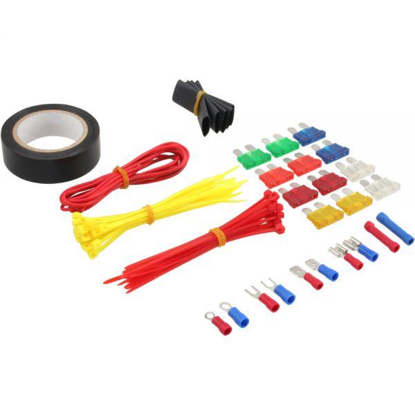 Sehr Gut InLine® Auto und Home Set, 115-teilig, Zange mit Kabelschuhe  SL01