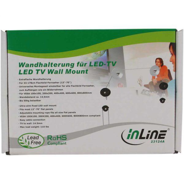inline wandhalterung f r led tv 33 178cm 13 70 bis. Black Bedroom Furniture Sets. Home Design Ideas
