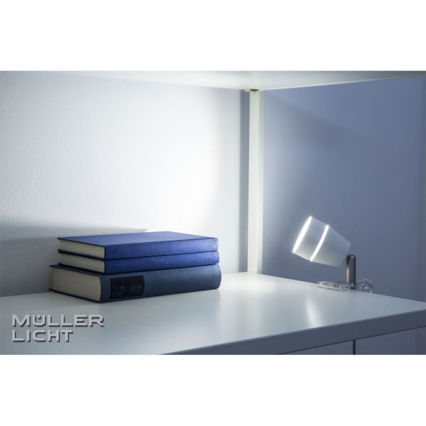 m ller licht led clip licht idual mit fernbedienung nachtlicht strom energie licht. Black Bedroom Furniture Sets. Home Design Ideas