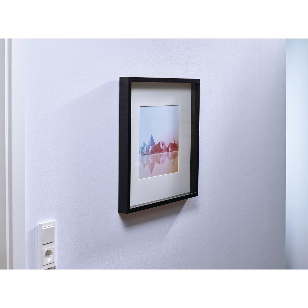 tesa klebenagel 2 st ck f r tapeten und putz bis zu 1kg pro nagel verstellbar wei. Black Bedroom Furniture Sets. Home Design Ideas